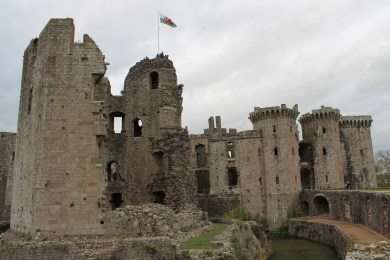 55. Raglan Castle, Monmouthshire, Wales
