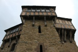 59. Stokesay Castle, Shropshire