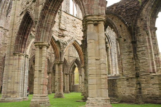 25. Tintern Abbey, Monmouthsire, Wales