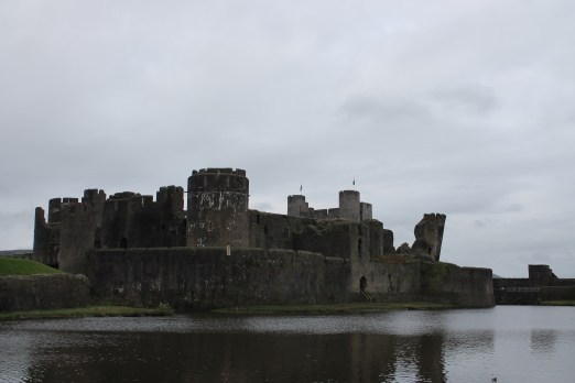 01. Caerphilly Castle, Wales