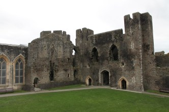 34. Caerphilly Castle, Wales