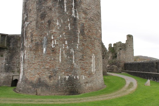51. Caerphilly Castle, Wales