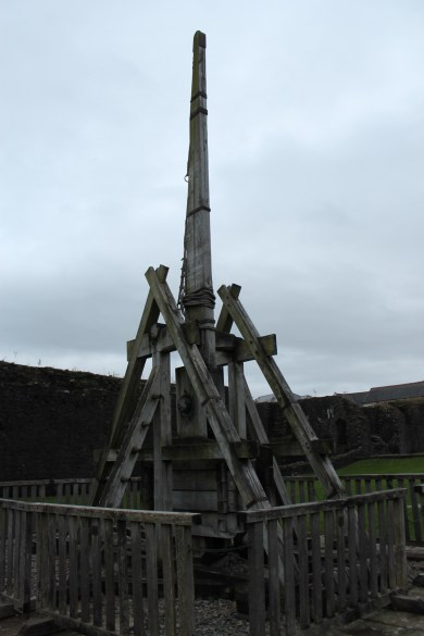 55. Caerphilly Castle, Wales