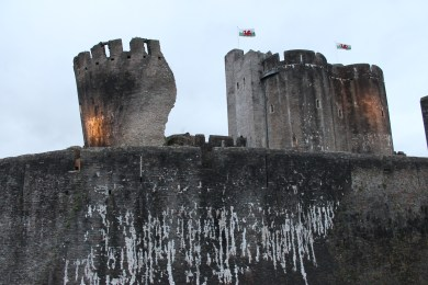 62. Caerphilly Castle, Wales
