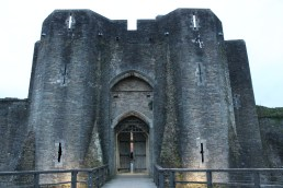 68. Caerphilly Castle, Wales