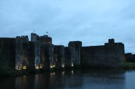 72. Caerphilly Castle, Wales