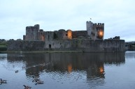 74. Caerphilly Castle, Wales