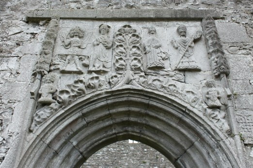 44. Clontuskert Priory, Co. Galway