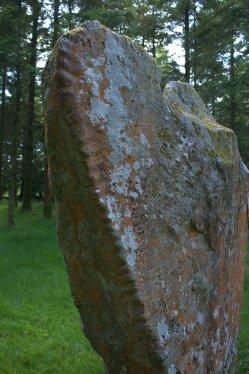 04. Knickeen Ogham Stone, Co. Wicklow