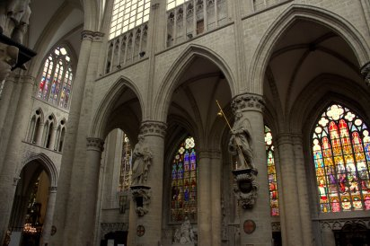 08. Cathedral of St. Michael and St. Gudula, Belgium