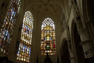 33. Cathedral of St. Michael and St. Gudula, Belgium