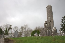 02. Donaghmore Round Tower & Church, Co. Meath
