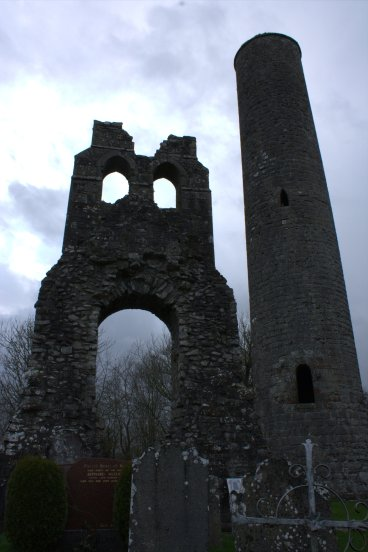 07. Donaghmore Round Tower & Church, Co. Meath