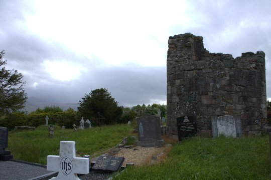 13. Aghadoe Cathedral & Round Tower, Co. Kerry