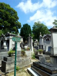 17. Pére Lachaise Cemetery, Paris, France