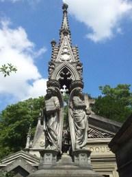 24. Pére Lachaise Cemetery, Paris, France