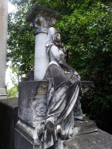 47. Pére Lachaise Cemetery, Paris, France