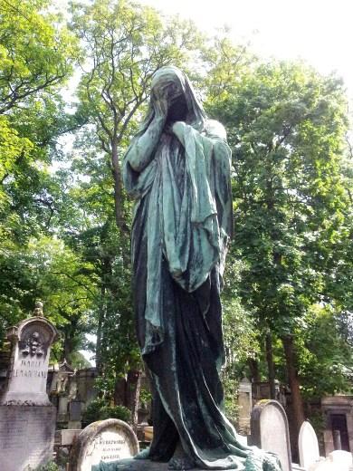 53. Pére Lachaise Cemetery, Paris, France