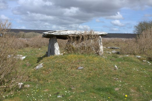 01. Gleninsheen Wedge Tomb, Co. Clare