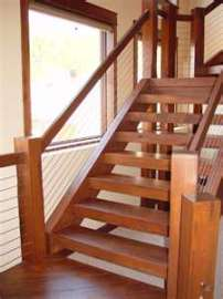 Cable Railing Straight Stairs 1