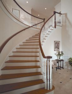 Curved Staircase 10