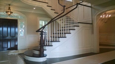 Curved Staircase Flare 26