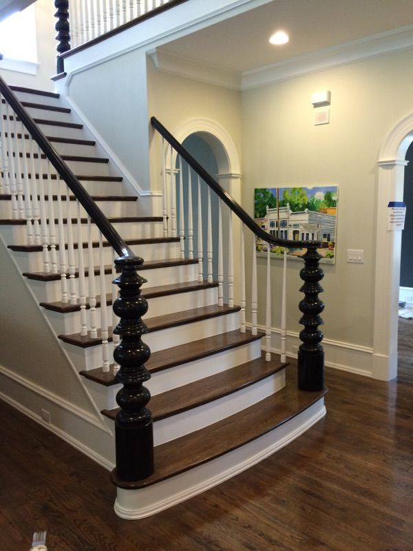 Updated Baluster and Newels with Flare 55