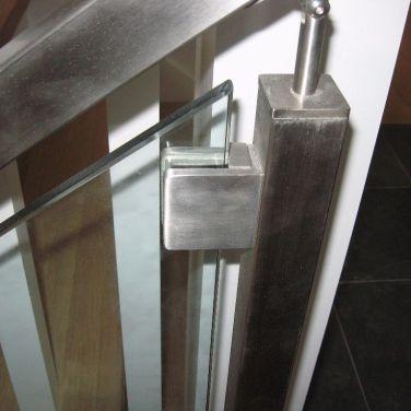 Glass Nickel Modern Finish