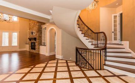 Custom Loyd Curved Staircase