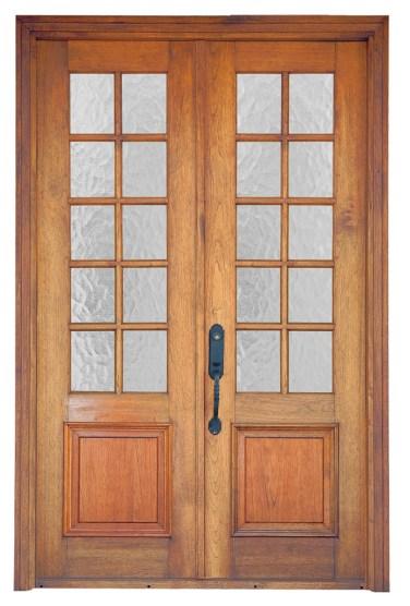02 - Solid Wood 10 lite door