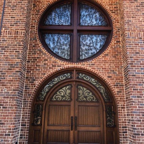 Custom-Front-Door-Matching-Window