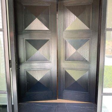 Custom-Wood-Dark-Double-Door