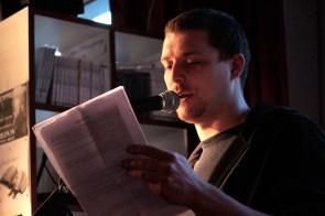 Lesebühne Vision und Wahn Berlin: Clint Lukas