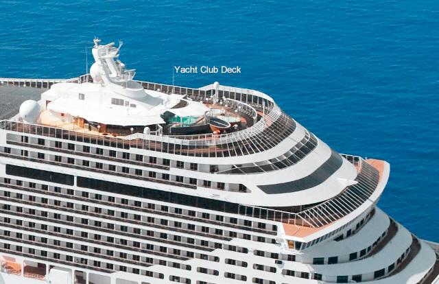 CROISIERES MSC Yacht Club Visiotours Voyages Sur