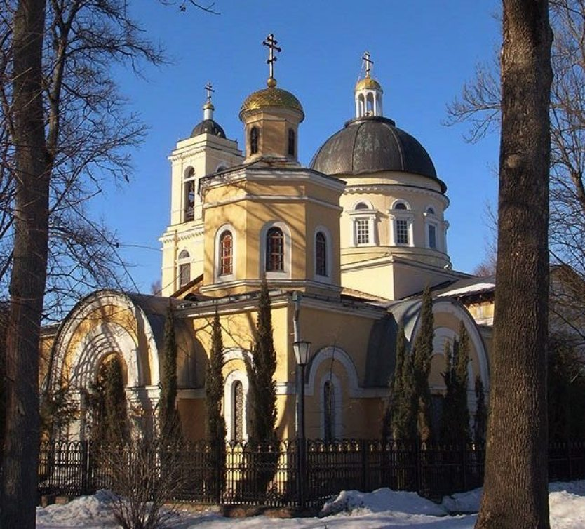 Temple in Gomel