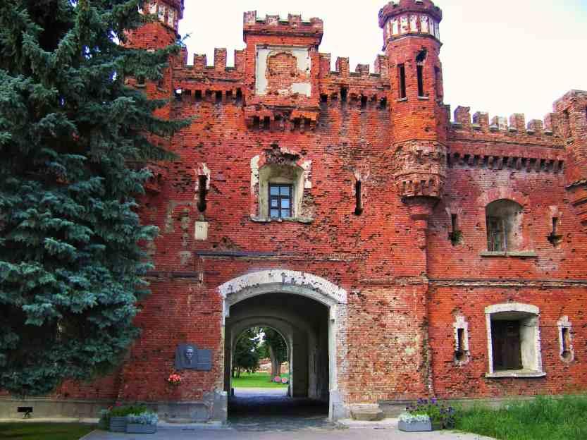 Брестская крепость. ворота