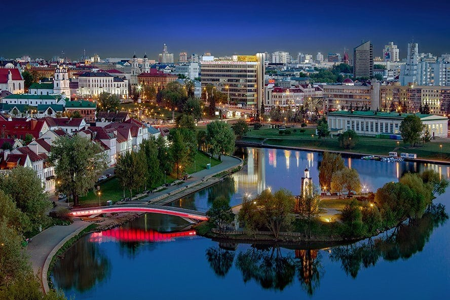 Island on Svisloch river, Price of 1 day in Minsk
