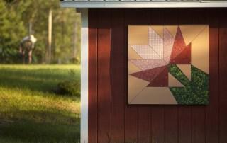 Flower Barn Quilt