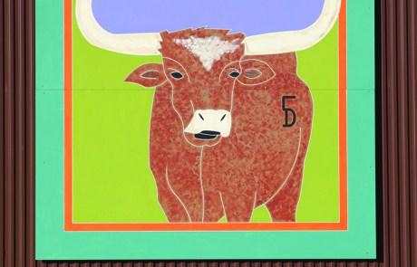 Longhorn Barn Quilt