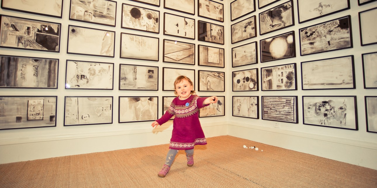 Abbot Hall Art Gallery has many internationally renowned exhibitions