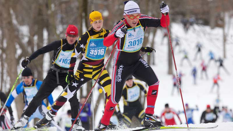 City of Lakes Loppet cross country ski race