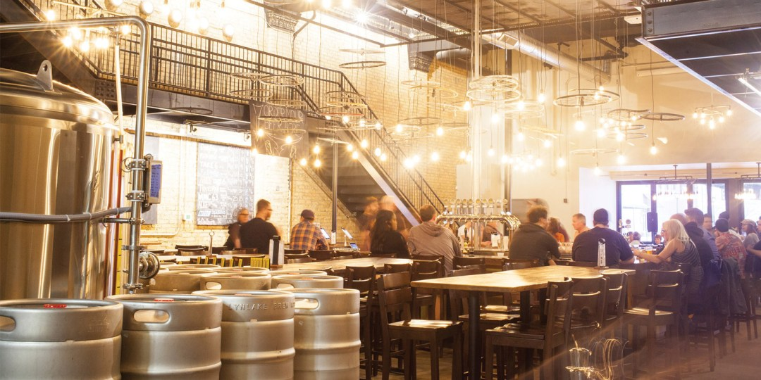 Lynlake Brewery Interior