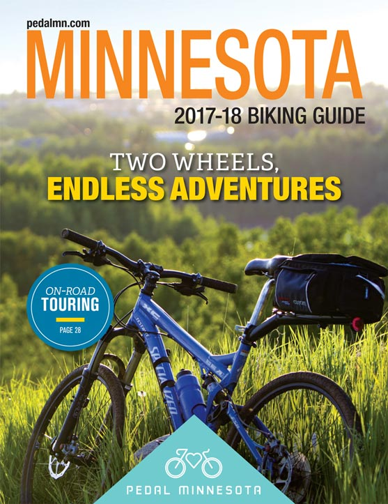 2017-2018 Biking Guide Cover