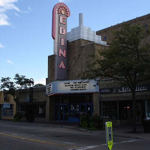 Movie theater in Edina