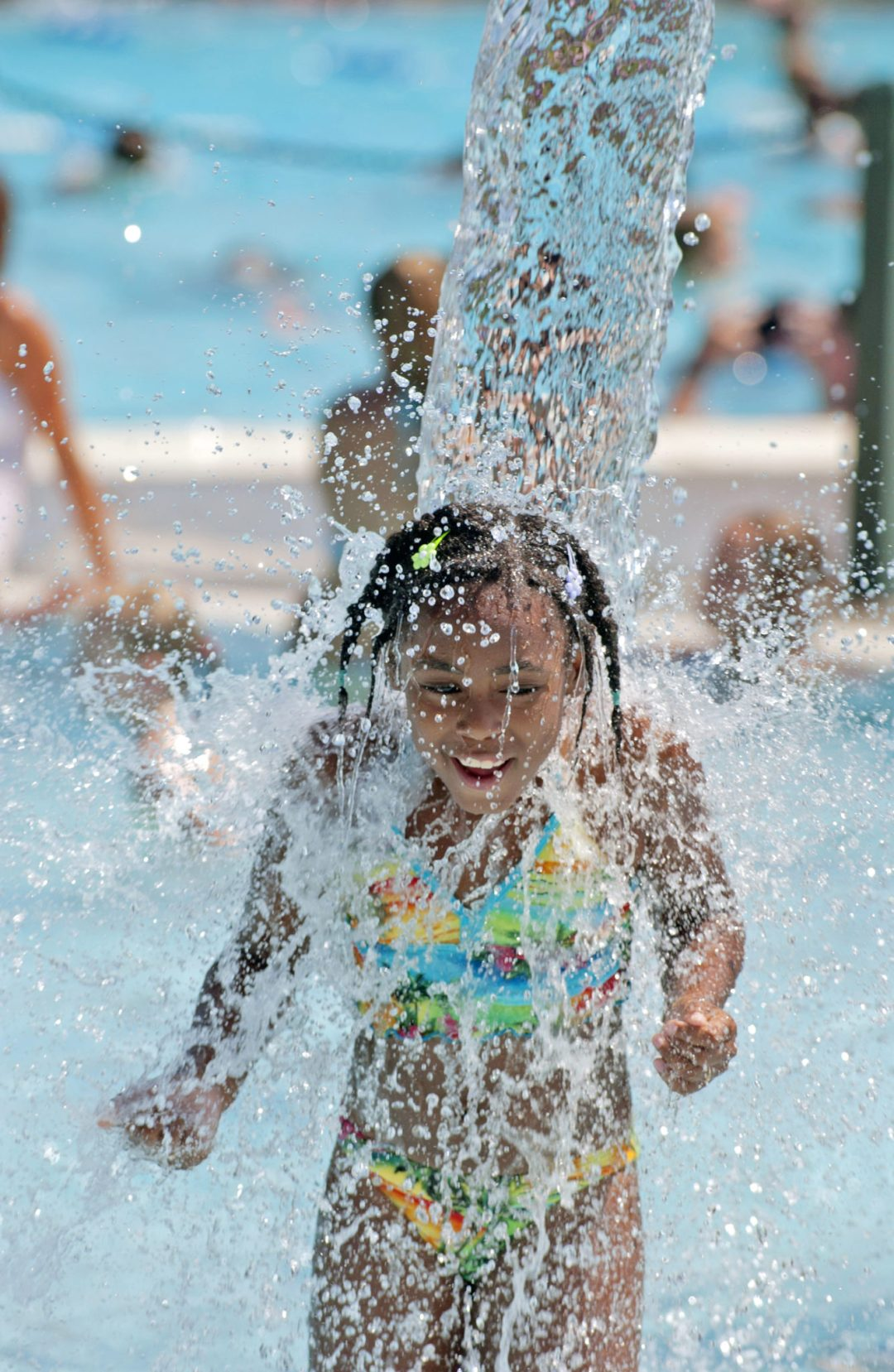 "Getting Drenched. Image by <a href=""http://www.cityofeagan.com/cascade-bay"" target=""_blank"">Cascade Bay Waterpark</a>"