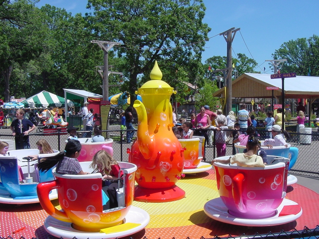 Teacup Ride. Image by Como Town