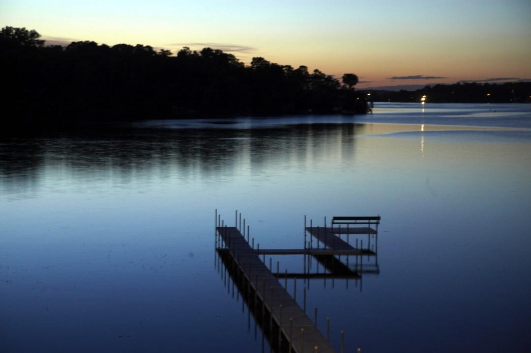 Sunset over Lake Minnetonka