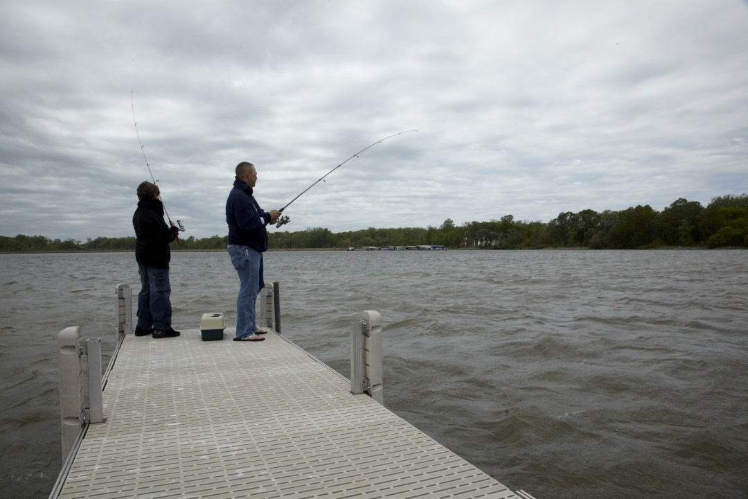Fishing Photo by Todd Buchanan/Greenspring Media
