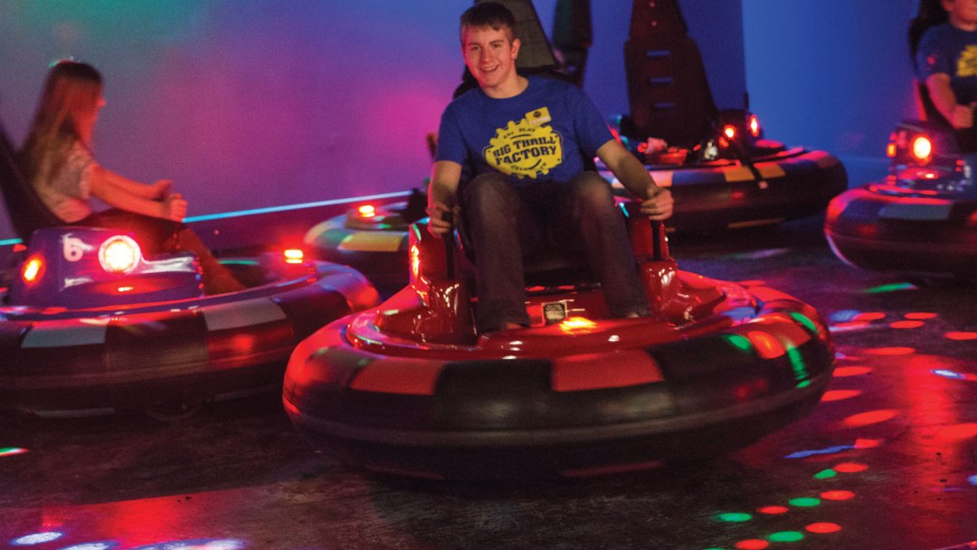 Bump N' Spin Cars. Image courtesy of Big Thrill Factory