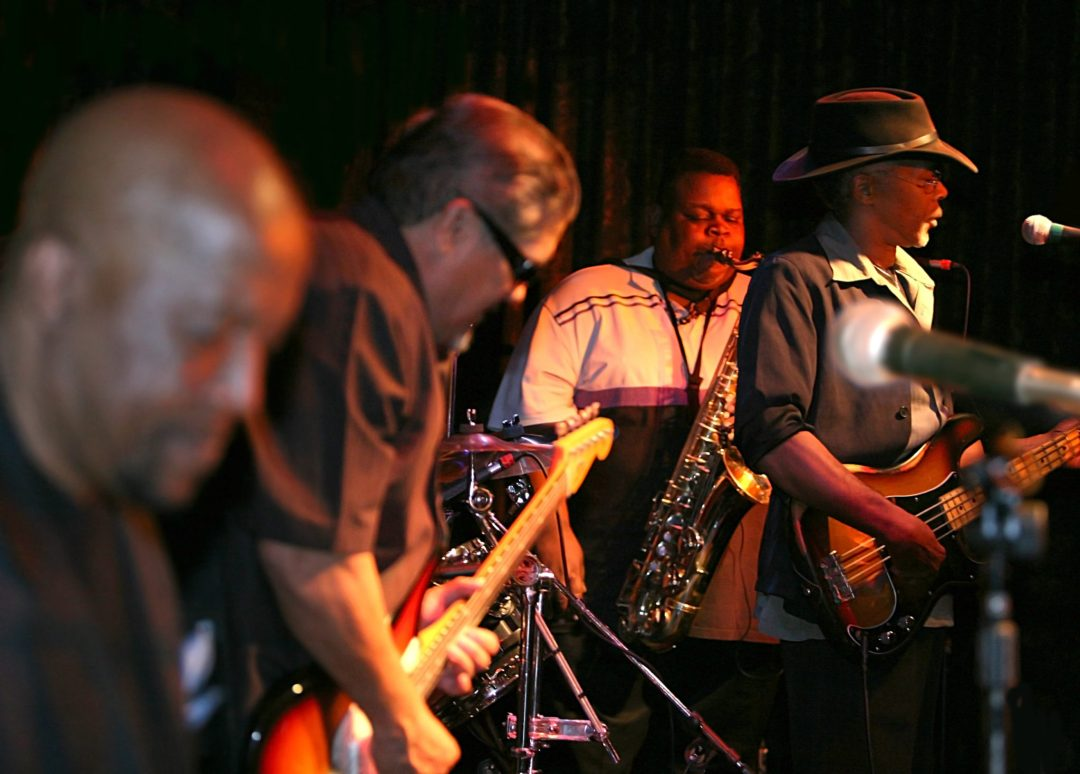 "Len Rainey & The Midnight Players. Image by <a href=""https://flic.kr/p/4robFb"" target=""_blank"">Bengt Nyman/flickr</a>"